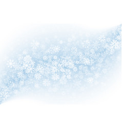 Blank winter background vector