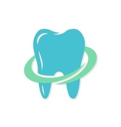 dental logo or icon vector image vector image