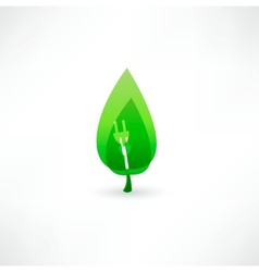 Green energy concept vector