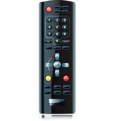 realistic looking remote control vector image vector image