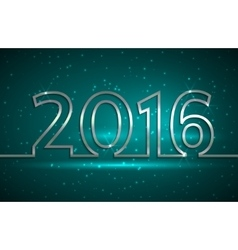 2016 new year greeting vector