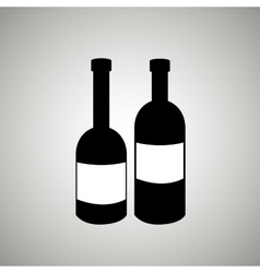 Wine icon design vector