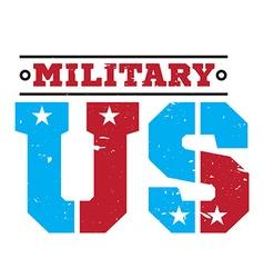 American military emblem vector