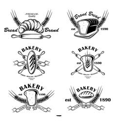 Bakery Emblem vector image