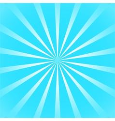 Blue sun ray background vector