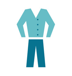 shirt pants clothes icon image vector image vector image