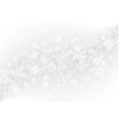Winter blank background vector