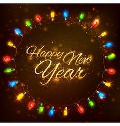 Happy new year celebration abstract seasons vector