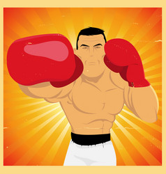 Right arm counterpunch and knockout vector