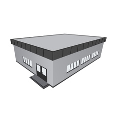 Store home building pavilion vector