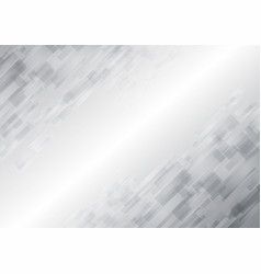 abstract white technology new future background vector image vector image