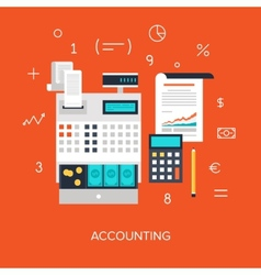 Accounting vector