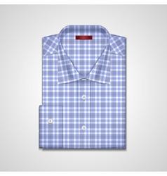 classic plaid shirt vector image