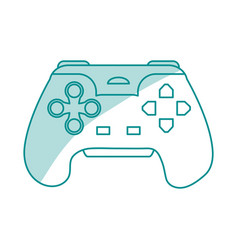 game controller design vector image