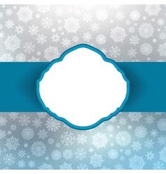 retro christmas card vector image