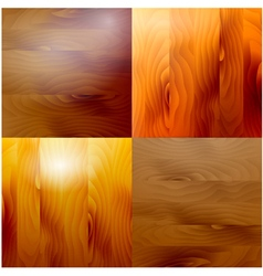 Set wooden structure different shades of a tree vector