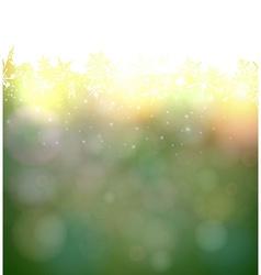 Vibrant green christmas background vector