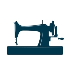 Isolated sewing machine vector