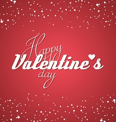 Happy valentine greetings vector