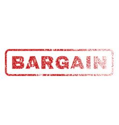 Bargain rubber stamp vector