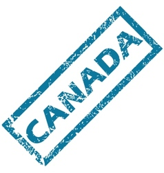 Canada rubber stamp vector image vector image