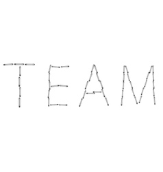 Modern team word background eps 10 vector