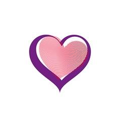 Valentine's day conceptual art vector