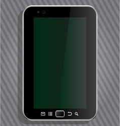 vector tablet vector image
