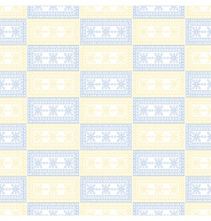 Pattern symmetrical geometric background vector