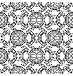 Ornamental Seamless Line Pattern vector image vector image