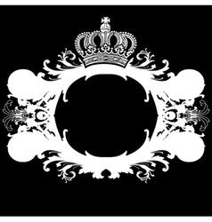 Ornate heraldic deco vector