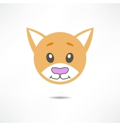 Smiling cat vector
