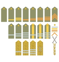 Insignia of the romanian army vector