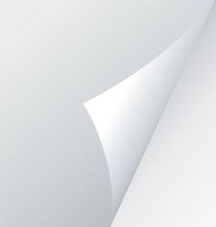 fold corner vector image