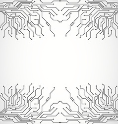 Circuit board background texture vector