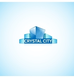 Crystal City vector image