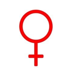Gender sign mirror of venus 310 vector