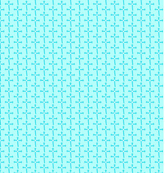 background blue geometry seamless pattern vector image vector image