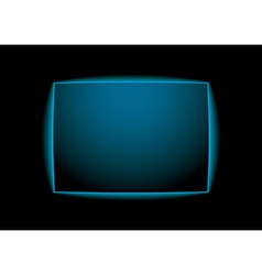 Blue glow background vector image