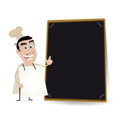 Chef cook sandwich man vector