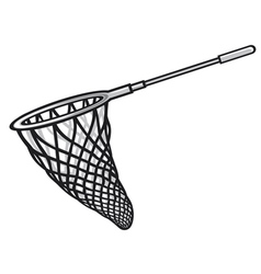 fishing net vector image