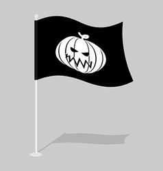 Flag halloween traditional holiday growing flag vector
