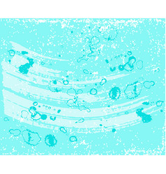abstract blue background with drops sea concept vector image