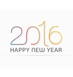 Original happy new year vector