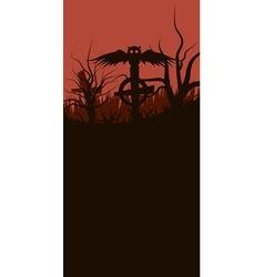 halloween baner vector image