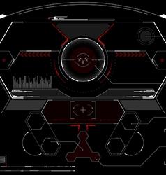 Head-up display vector image