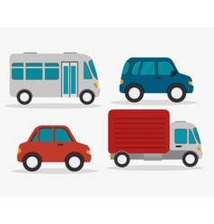 mass transport design vector image