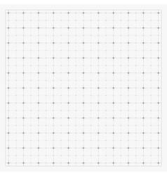 Clean blueprint background vector image