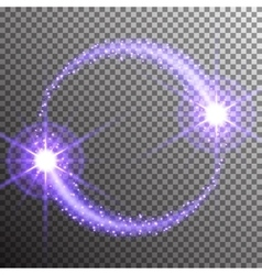 Special light flare effect vector