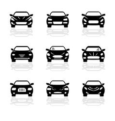 Car2 vector image vector image